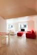 Interior, beautiful apartment, modern furniture