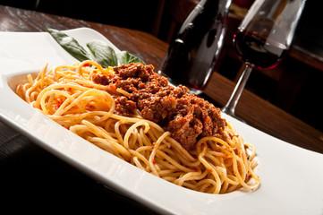 pasta, spaghetti al ragù, alla bolognese