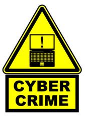 Cyber crime. Предупреждающий знак