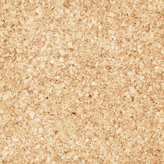 Compressed brown cork board background