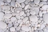 Fototapety white pebbles stones background