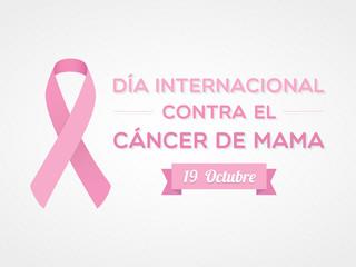 Día Internacional contra el Cáncer de Mama