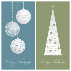 blue and green christmas card backgrounds