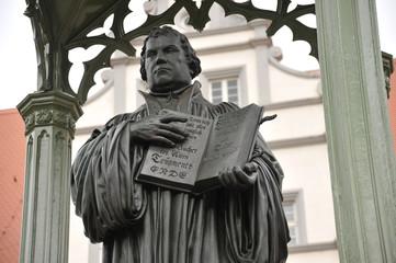 Martin Luther, Denkmal, Marktplatz, Lutherstadt Wittenberg