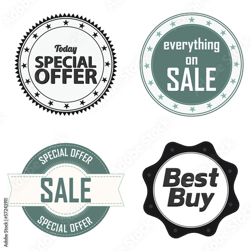 Offer labels