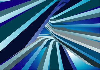 Blue abstrsct . Vector.