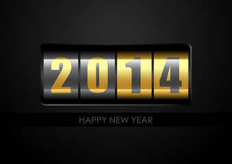 2014 Counter - Happy New Year