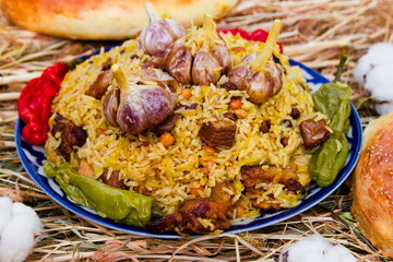 Traditional east pilaf