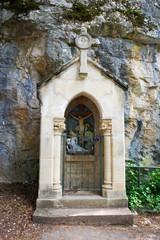 pilgrimage path in Rocamadour