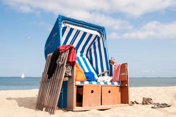 Strandkorb Sommerfeeling