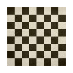 Grunge chess or draughts board