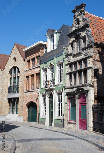 Mechelen - Old aisle in the center of town