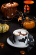 Hot Chocolate for Halloween