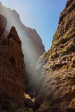 Famous canyon Masca at Tenerife - Canary