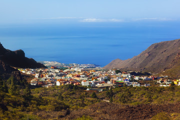 Village in Tenerife island - Canary
