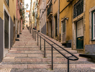 LISBON, PORTUGAL street