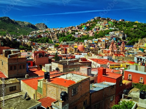 The Colorful City of Guanajuato Mexico North America