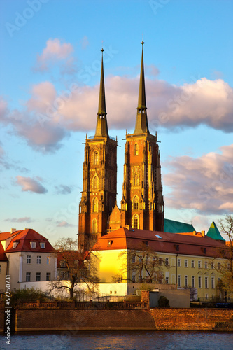 Cathedral of St. John the Baptist in Wroclaw © satori