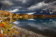 Sunrise in Torres del Paine National Park