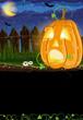 Scared Jack o Lantern