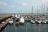 Italy, boats in the Ravenna marina harbor