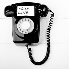 Telephone help line