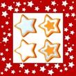 Xmas cookies stars