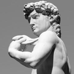 David by  Michelangelo - masterpiece of Renaissance sculpture