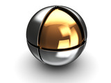 ball with golden core