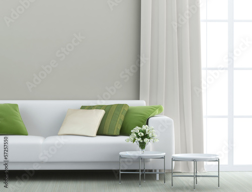 Leinwanddruck Bild beautiful living room
