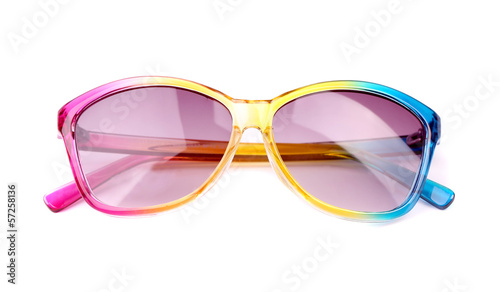 Glasses with colored rim