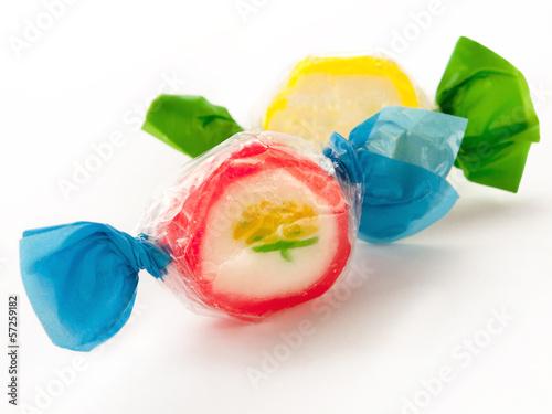 Leinwandbild Motiv Bonbons