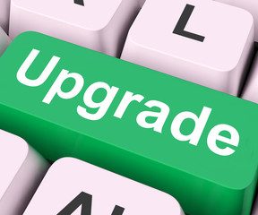 Upgrade Key Means Improve Or Update.