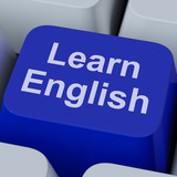 Learn English Key Shows Studying Language Online