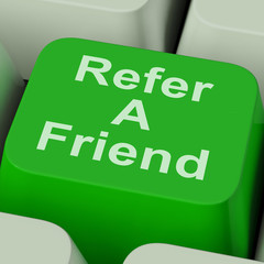 Refer A Friend Key Shows Suggest To Person