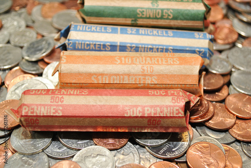 American Rolled Coins on Loose Coins