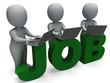 Job Online Shows Web Employment Search