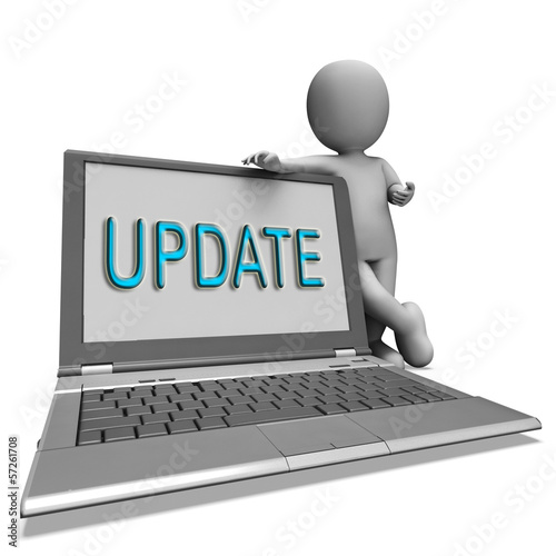 Update Laptop Means Updating Modified Or Upgrading