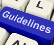 Guidelines Key Shows Guidance Rules Or Policy
