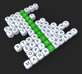Consulting Dice Shows Consult Consultant Consultants And Consult