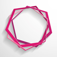Pink abstract paper background