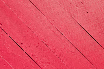 Red Wooden Slats Background