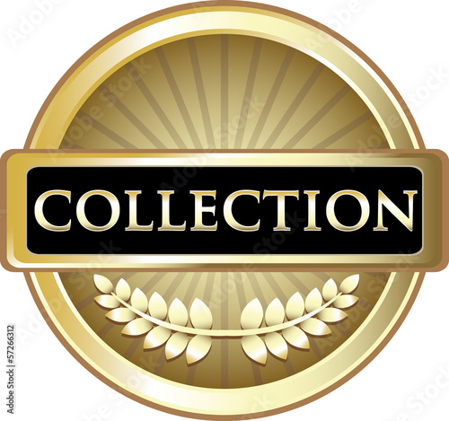 Collection Gold Vintage Label