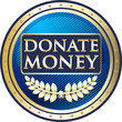 Donate Money Vintage Label