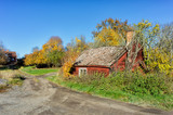 Vintage cottage in the Swedish countryside of Ostergotland