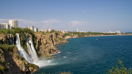 Waterfall Duden in Antalya