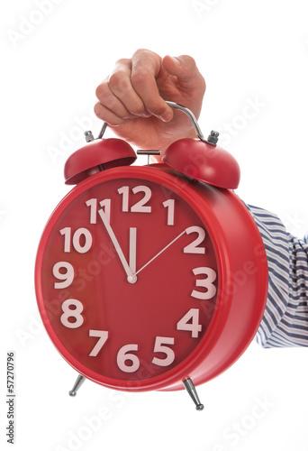 Zeit für Erholung, Urlaub, Veränderung - Uhr Countdown