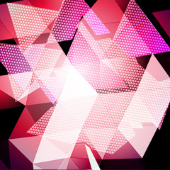 Triangular Abstract Background
