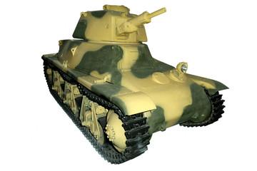 yellow-green light tank