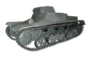 old gray light tank